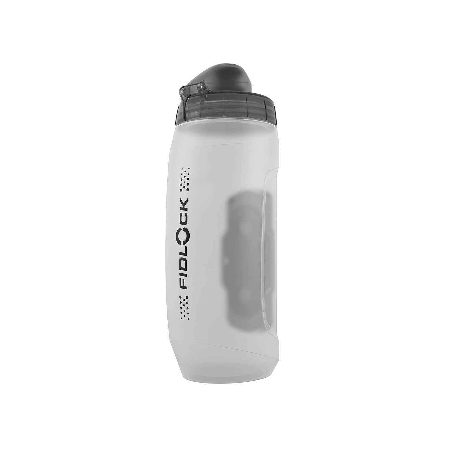 TWIST BOTTLE 590ML CLEAR + TWIST BIKE BASE