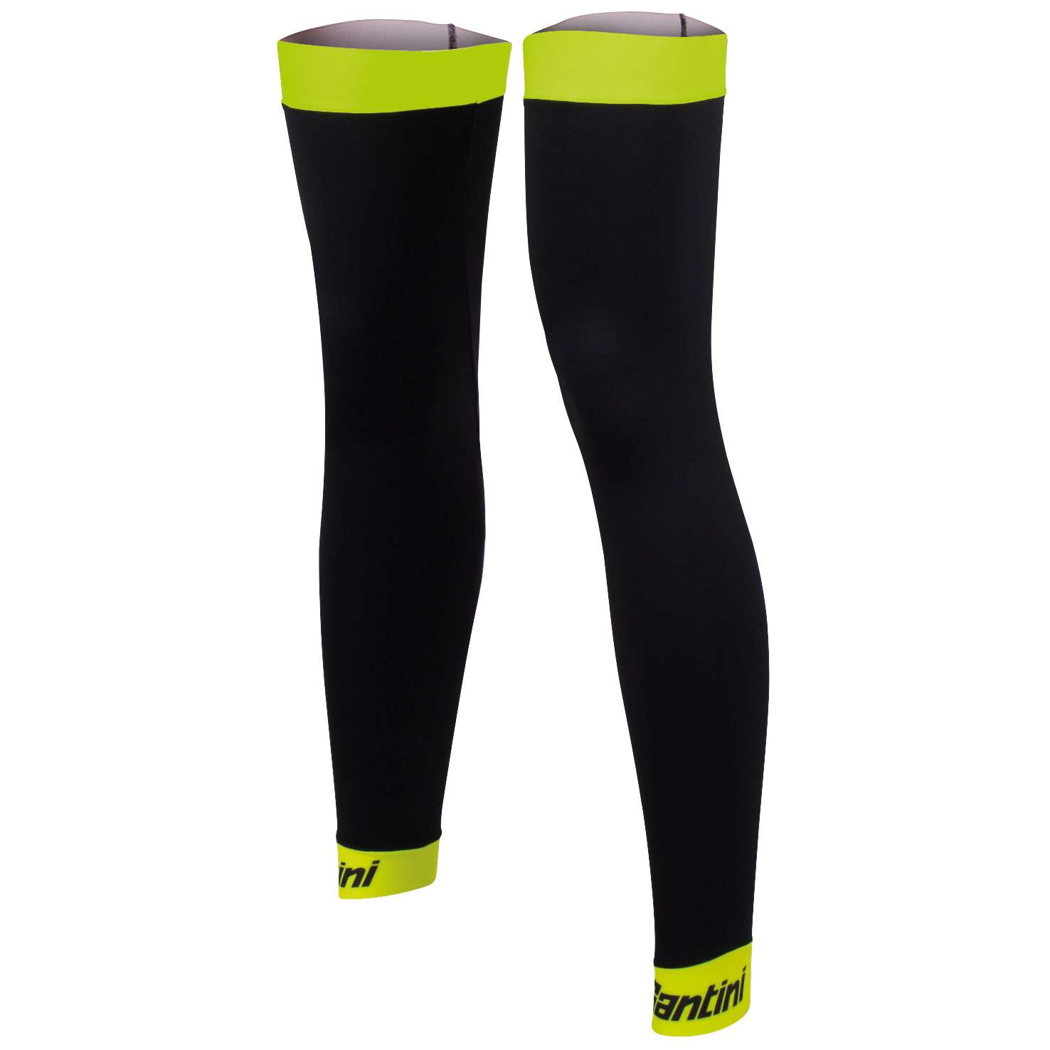 LEG WARMERS BHOT BLACK-YELLOW FLUO