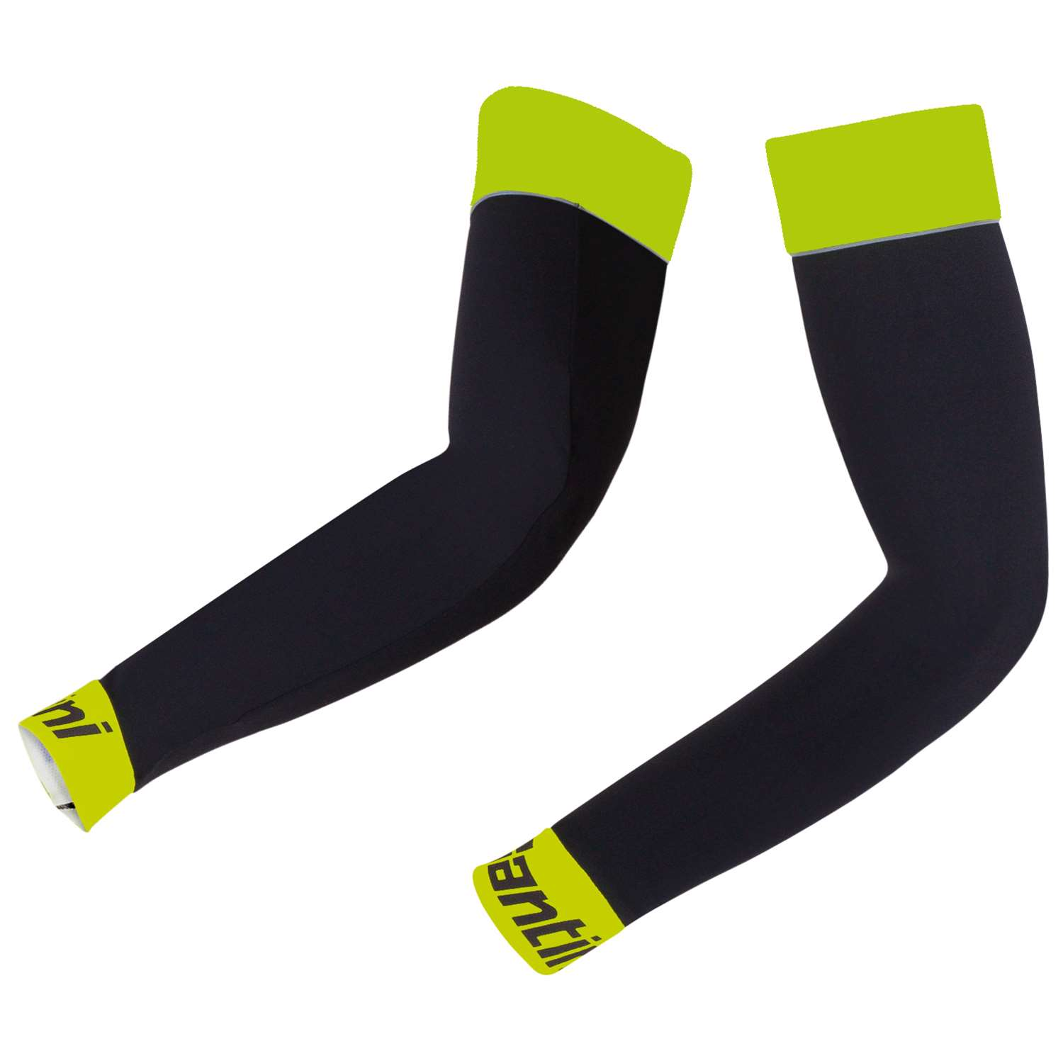 ARM WARMERS BHOT BLACK-YELLOW FLUO