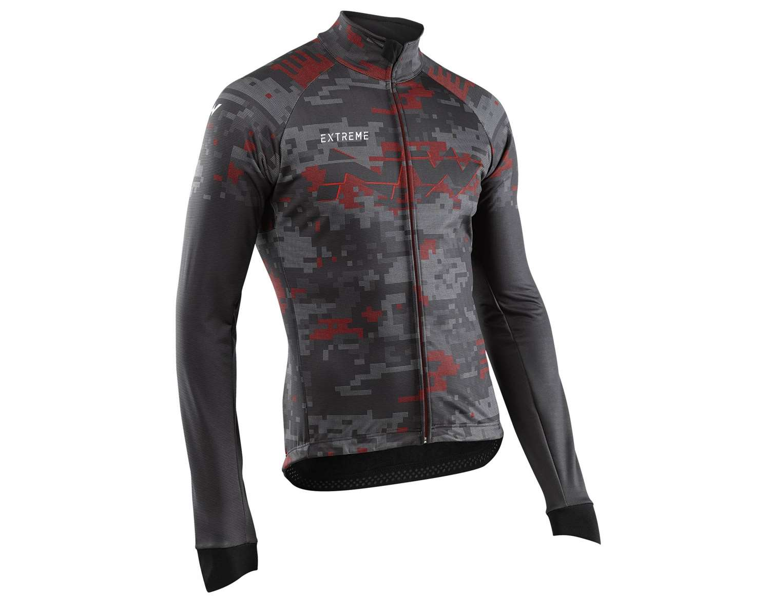 EXTREME 2 JACKET TOTAL PROTECTION BLACK RED