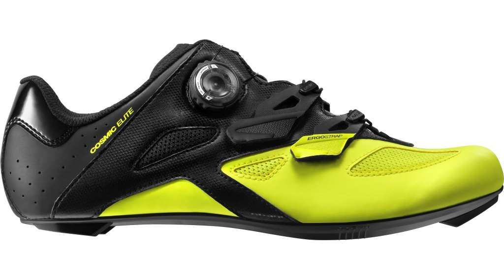 MAVIC SCARPE COSMIC ELITE ROAD BLACK SAFETY YELLOW