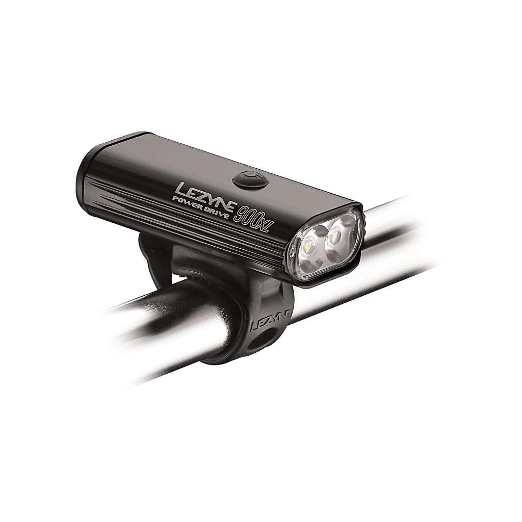 Luce led power drive 900xl lumen luci led lezyne for Luci tubolari a led