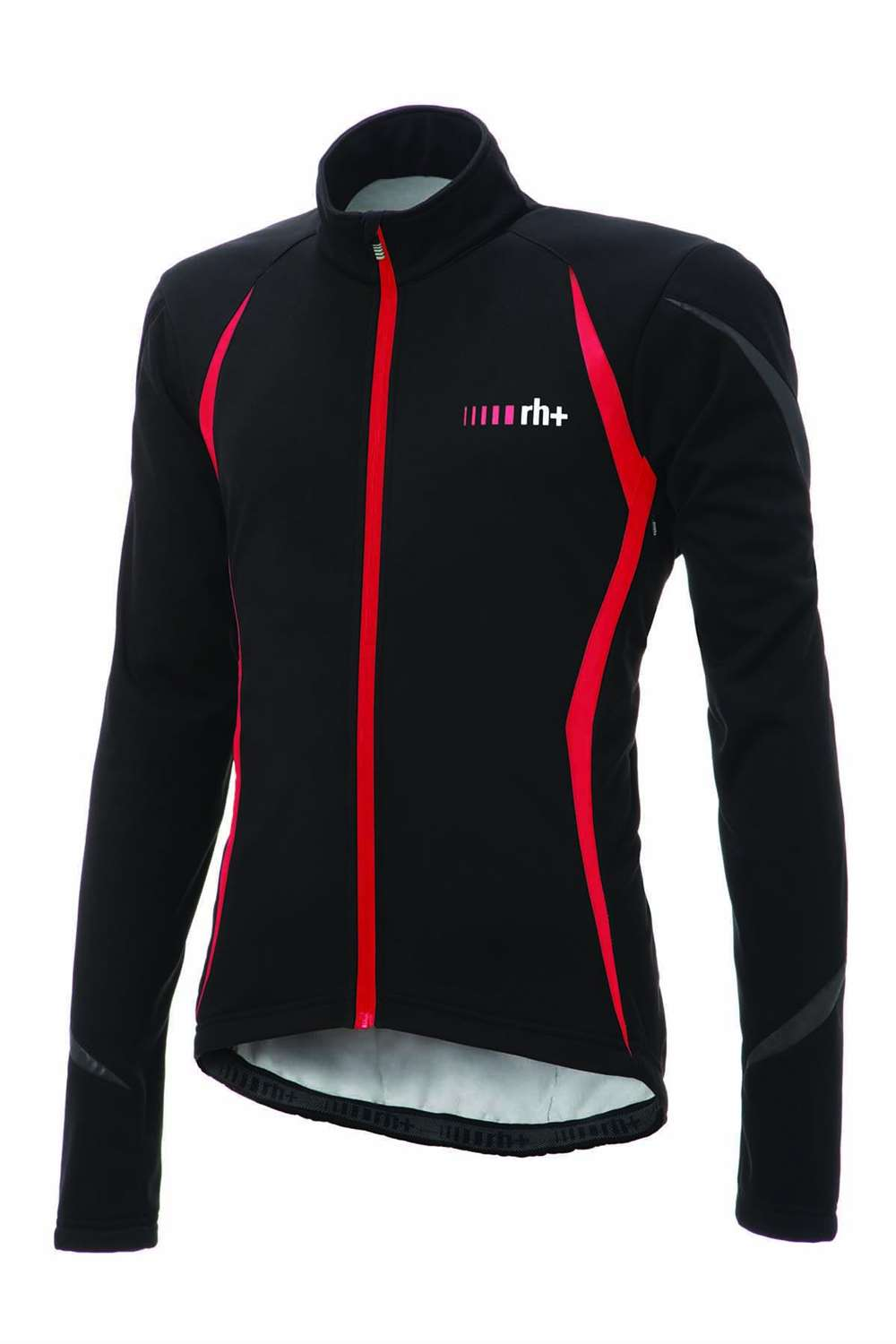 RH+ FLASH JACKET BLACK RED REFLEX