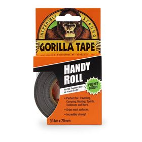 GORILLA TAPE HANDY ROLL 9.14X25MM