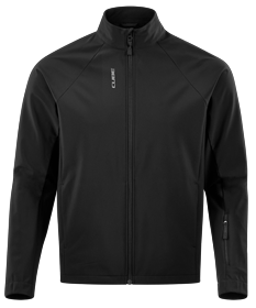 CUBE TOUR SOFTSHELL JACKET BLACK