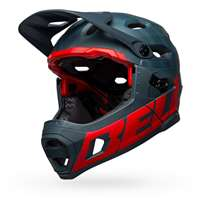 SUPER DH SPHERICAL PRIME MATTE BLUE/CRIMSON