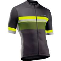 NORTHWAVE ORIGIN JERSEY SS ANTHRACITE YELLOW FLUO