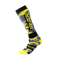PRO MX SOCK HUNTER BLACK/GRAY/NEON YELLOW