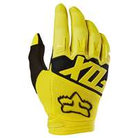 DIRTPAW RACE GLOVE YELLOW