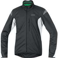 GORE ELEMENT WINDSTOPPER SOFT SHELL JACKET BLACK/WHITE