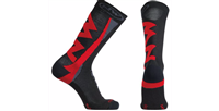 NORTHWAVE CALZINI EXTREME WINTER HIGH SOCKS BLACK RED