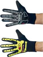 SKELETON W-GEL LONG BLACK YELLOW FLUO