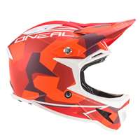 CASCO INTEGRALE WARP FIDLOCK EDGY CAMO RED ENDURO