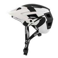 DEFENDER 2.0 HELMET SILVER WHITE BLACK