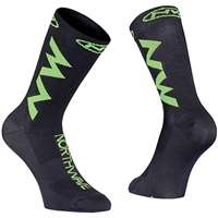 EXTREME AIR SOCKS BLACK GREEN FLUO