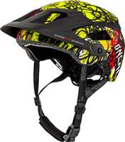 DEFENDER 2.0 HELMET VANDAL ORANGE NEON YELLOW