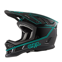 BLADE HELMET CHARGER BLACK TEAL