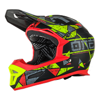 FURY RL HELMET ZEN NEON YELLOW