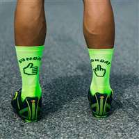 SUNDAY MONDAY SOCK LIME FLUO