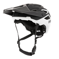 CASCO ONEAL PIKE 2.0 HELMET SOLID BLACK / WHITE