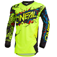 ONEAL ELEMENT VILLAIN JERSEY NEON YELLOW