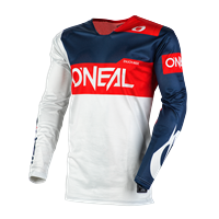 ONEAL AIRWEAR JERSEY FREEZ GRAY BLUE RED