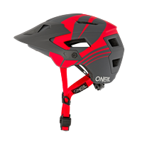 DEFENDER HELMET NOVA GRAY RED